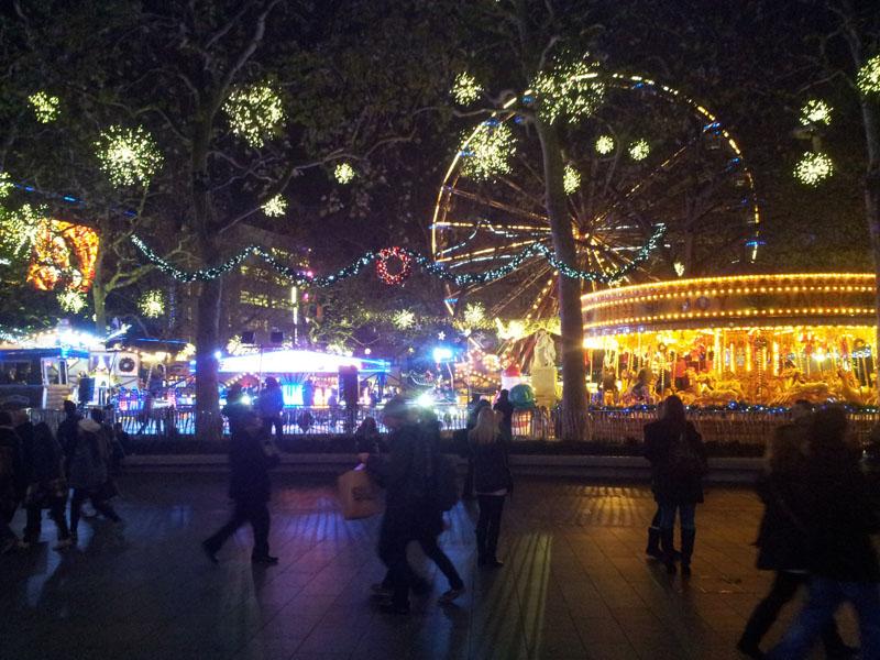 17 luci parco