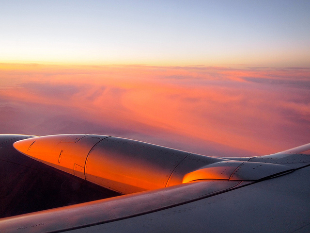 Una veduta dall'aereo Irlanda