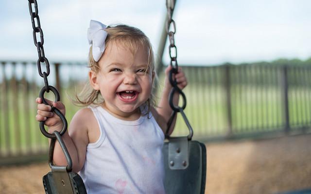 La felicità è il sorriso di un bimbo