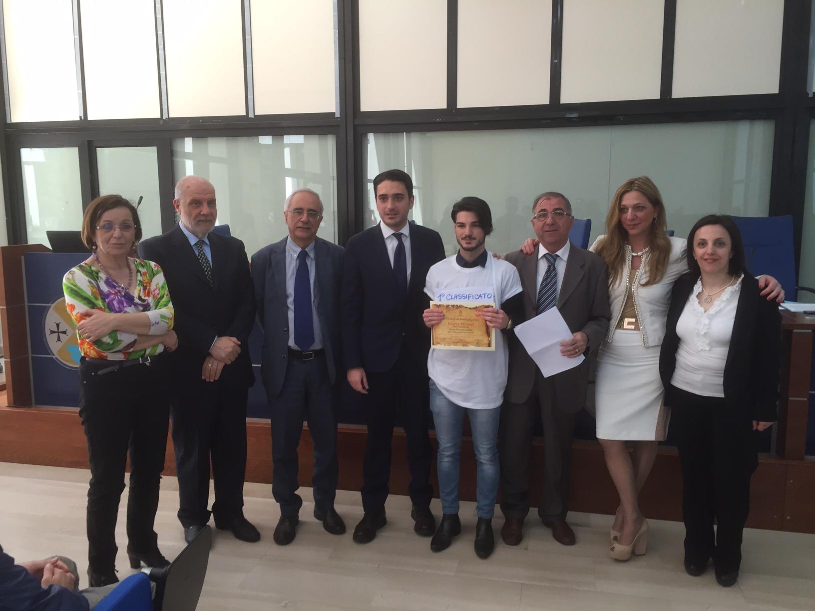 Premiazione Panella don Italo