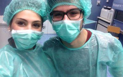 Michele Aliu studiare per diventare medico