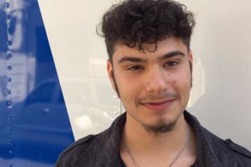 Bruno ha scelto di donare il sangue con L'Avis Reggio Calabria