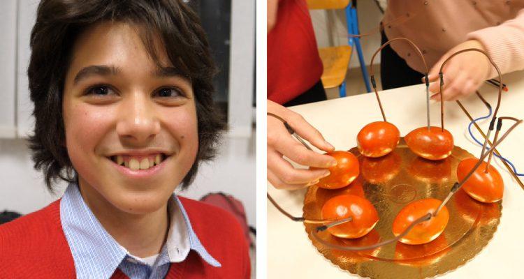 Esperimenti di chimica al Liceo Volta di Reggio