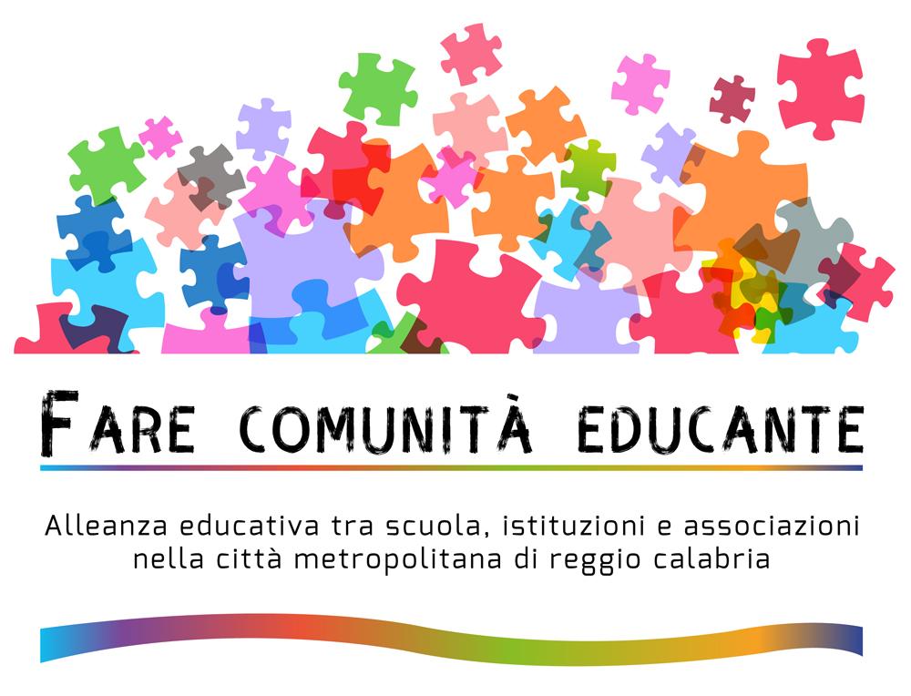 Logo Alleanza Educativa Reggio Calabria ideato da IAMU